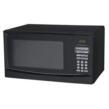 Hamilton Beach 0.9 cu ft Digital Microwave, Black $37.1