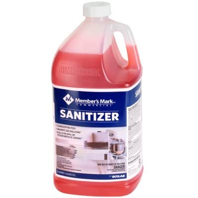 Member's Mark Commercial Sanitizer 128 oz. - $5.48 (availability varies by location)