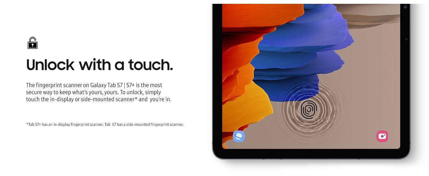 Samsung Galaxy Tab S7+ Wi-Fi, 128 GB for $700@Amazon &  $693.74@Samsung.com