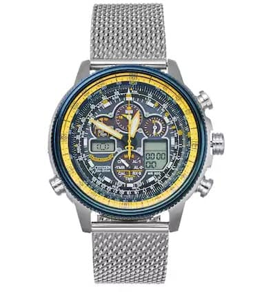 Citizen® Eco-Drive Mens Stainless Steel Blue Angels Navihawk A-T Watch Stack 10% coupon w/ 25% coupon $380