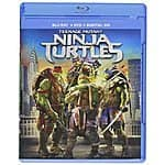 Teenage Mutant Ninja Turtles (Blu-ray + DVD + Digital HD) $14.99, Million Dollar Arm (Blu-ray) $11.99@ amazon