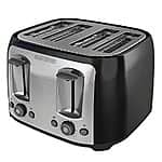 Black & Decker TR1478BD 4-Slice Toaster, Black $28.28@ amazon