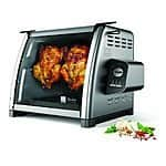 Ronco Series Stainless Steel Rotisserie Oven, Silver $118.9@amazon