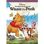 The Many Adventures of Winnie the Pooh DVD $10.43
