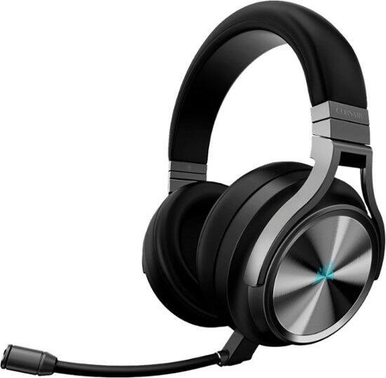 CORSAIR Refurbished Virtuoso RGB SE Wireless 7.1 Surround Sound Gaming Over-the-Ear Headset for PC/Mac (Gunmetal) - $129.99 + FS