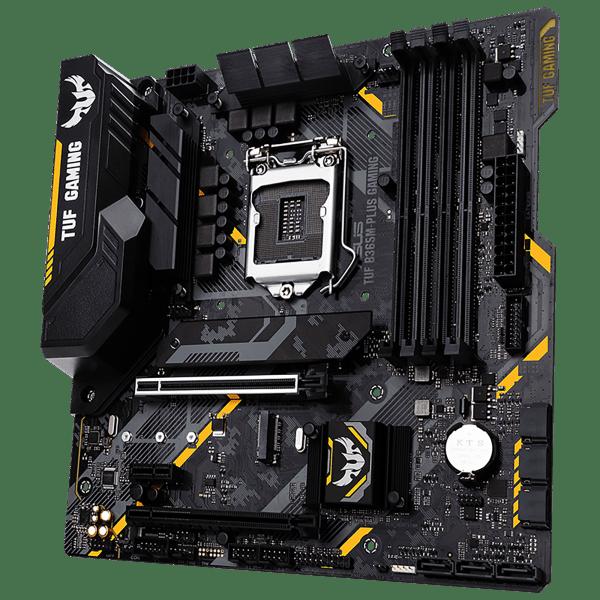 Asus mATX Gaming Motherboard with Aura Sync RGB LED lighting (Refurbished) $45