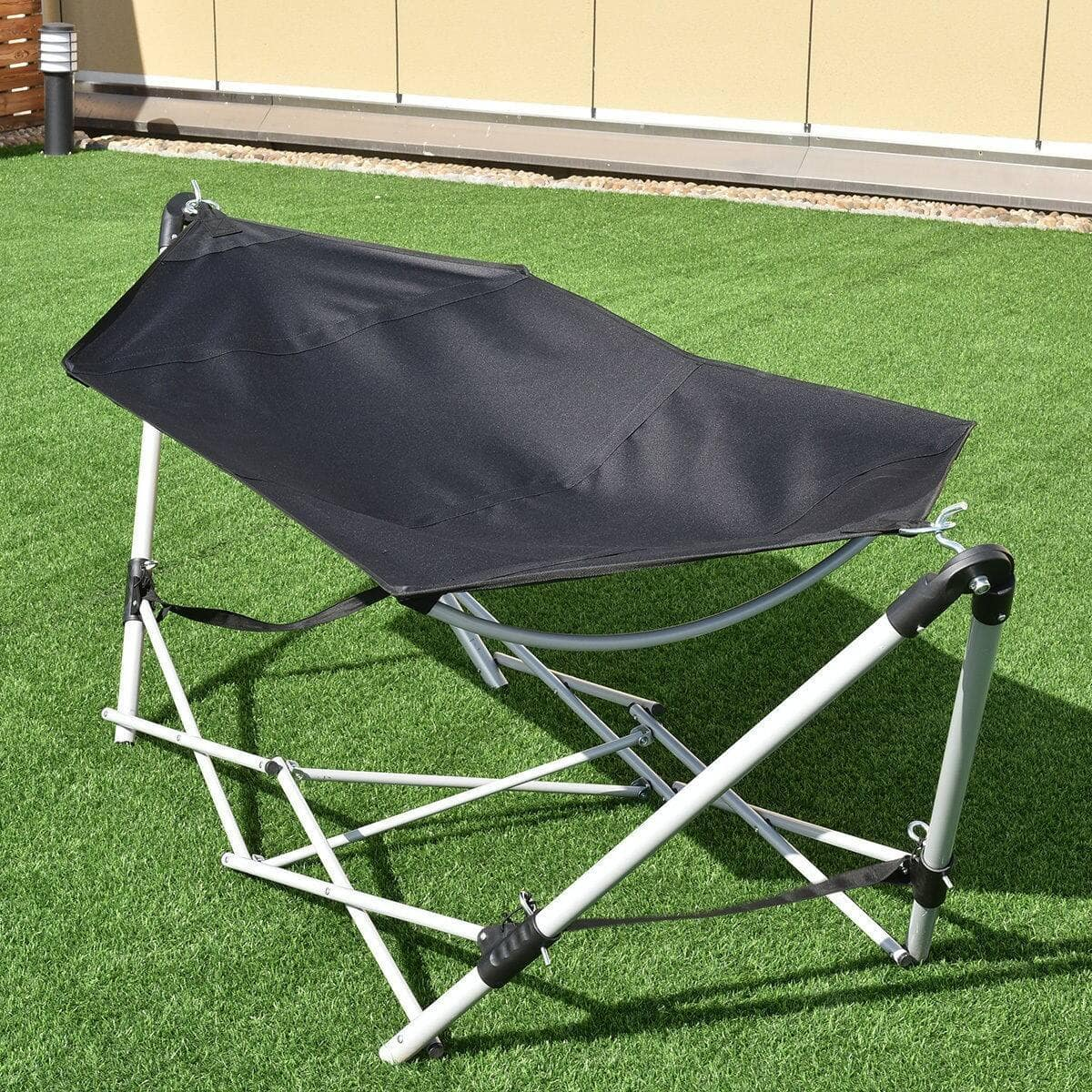 Costway Portable Folding Steel Frame Hammock with Bag for $51.95 + FS