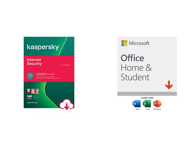 Microsoft Office Home & Student 2019 w/ choice of security software (Norton/Kaspersky/ESET/AVG/Bitdefender/McAfee) $75 & More