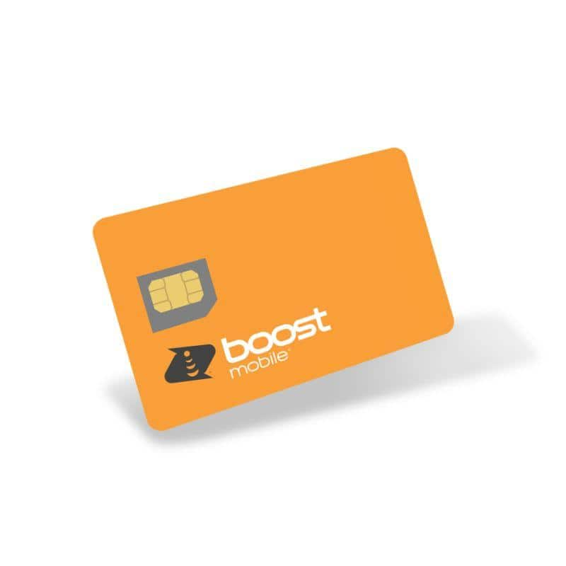 6-Months of Unlimited Talk & Text + 2GB LTE Data - Boost Mobile for $47.99 + FS