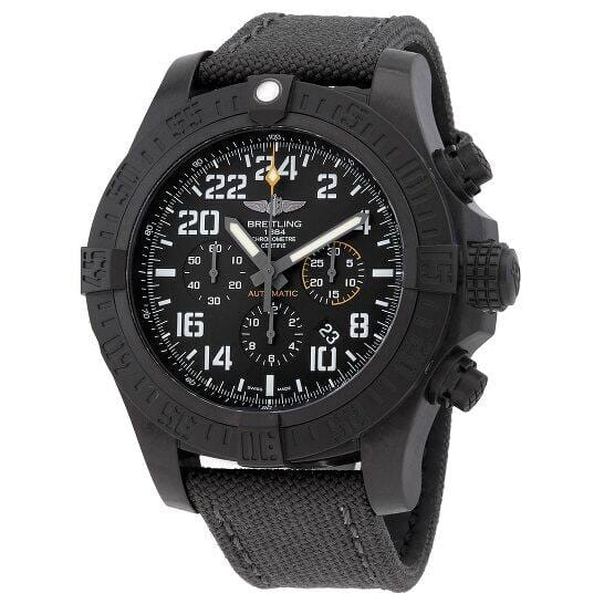 BREITLING Avenger Hurricane Chronograph Automatic Black Dial 50mm Men's Watch Extra for $3895 AC