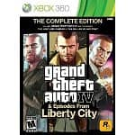 Grand Theft Auto IV & Episodes from Liberty City: The Complete Edition (Xbox 360 or PS3)