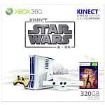 320GB Xbox 360 Limited Edition Kinect Star Wars Console Bundle