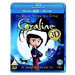 Coraline 3D (Region-Free Blu-ray)