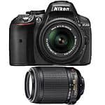 Nikon D5300 DX-Format DSLR Camera w/ 18-55 VR, 55-200 VR - Factory Refurbished $580 + Free Shipping (eBay Daily Deal)