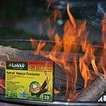 12 Pack of 10-Count Lokkii Waterproof Hotrod Natural Firestarters $14 AC + Free Shipping!