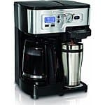 Hamilton Beach 2-Way FlexBrew 12-Cup Coffeemaker (Factory Refurbished) $50 + Free Shipping!