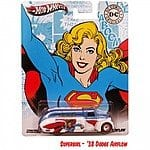 Hot Wheels DC Comics Nostalgia Collection (AquaMan, BatGirl, Darkseid, Plastic Man, SuperGirl or The Riddler) $2.39 Each + $1 Flat Rate Shipping!