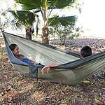 Parachute Hammock w/ Built In Travel Bag - Standard $15 AC + Free Shipping!