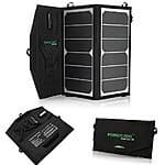 Poweradd 14W Solar Charger Portable Foldable Solar Panel Charger $46 AC + FSSS!