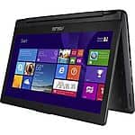 "Asus Flip 2-in-1 13.3"" Touch-Screen Laptop Intel Core i3 6GB Memory 500GB HDD (Manufacturer Refurbished) $330 + Free Shipping (eBay Daily Deal)"