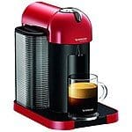 Nespresso VertuoLine Coffee and Espresso Maker (Red)  $129 + Free Shipping