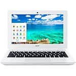 "Acer 11.6"" Chromebook Laptop CB3-111-C8UB (Manufacturer Refurbished) $110 + Free Shipping (eBay Daily Deal)"