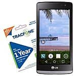 Select Android Smartphones with 1-Year Tracfone Service (1200 Minutes/Texts/Data) for $100 + Free Shipping!