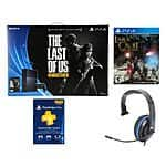 SONY PS4 Last of Us gaming console + Silver Headset + 3 Months Subscription Card + PS4 Lara Craft $400 + Free Shipping (eBay Daily Deal)
