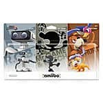 3-Pack Amiibo Retro (GameStop Exclusive) $35