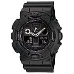G-Shock GA110-1B Military Series Watch (Black) $80, Casio GA1001A1 G-Shock X-Large G Ana-Digi Mens Watch $68 + Free Shipping!