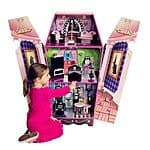 Teamson Kids Vampire Villa Coffin Doll House $70 AC + Free Shipping!