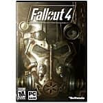 Fallout 4 (PC) + $25 Promo eGift Card for $60, Fallout Anthology (PC) + $15 Promo eGift Card for $50 + Free Shipping!