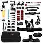 Powerextra Go Pro Hero Accessories Kit 45-in-1 for Go Pro Camera Accessories $40 AC + FSSS!