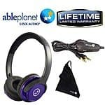 Able Planet  SH190 Travelers Choice Stereo Headphones w/ LINX AUDIO & Inline Volume for $8 + Free Shipping!