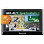 "Garmin nuvi 55LM 5"" GPS Navigation w/ Lifetime Maps - Refurbished w/ 1-Year Warranty $79 + Free Shipping!"