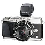 Olympus E-P5 16.1 MP Mirrorless Camera with 3-Inch LCD and 17mm f/1.8 lens (Black and Silver) $749 + Free Shipping (eBay Daily Deal)