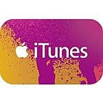 iTunes Gift Cards: $100 Gift Card $80, $50 Gift Card $40 or $25 Gift Card  $20 (Email Delivery)
