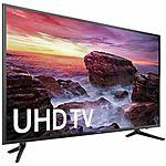 Samsung UN58MU6100 58-inch Smart MU6100 Series LED 4K UHD TV With Wi-Fi $699 + Free Shipping (eBay Daily Deal)