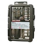 "Tools Sale: 59-Pc.  Screwdriver Set $5, 46-pc. Task Force Tool Set $6, 14-Pc. Kobalt Mini Pliers & Tweezers Set $10, 7"" Cordless Precision Engraver"