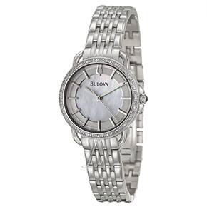 Bulova Women's Diamonds Watch (96R146) $99 + Free Shipping