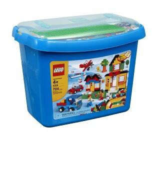 704-Piece LEGO Bricks & More Deluxe Brick Box (5508) $35 + Free Shipping