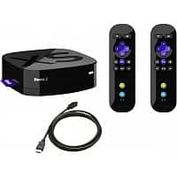 Newegg Flash Deal: Roku 2 XS 1080p HD Streaming Media Player Bundle- 2 Motion Sensor Controls Plus 6 ft HDMI Cable & Angry Birds (Refurbished) $56 + Free Shipping!