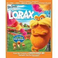 Amazon Deal: Dr. Seuss' The Lorax (Blu-ray + DVD + Digital Copy + UltraViolet) $8.70 + FSSS! *Hot Deal*