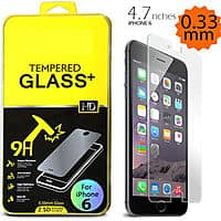 "eBay Deal: Apple 4.7"" iPhone 6 Premium Slim HD Tempered Film Glass Screen Protector $4.69 + Free Shipping (eBay Daily Deal)"