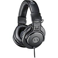 BuyDig Deal: Audio-Technica ATH-M30x Professional Headphones $50 + Free Shipping!