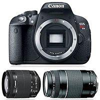 eBay Deal: Canon EOS Rebel T5i - 700D Camera Body + Canon EF-S 18-55mm f/3.5-5.6 IS STM Lens + Canon 75-300mm f/4-5.6 III EF Lens $590 + Free Shipping! (eBay Daily Deal)