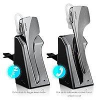 Amazon Deal: Mpow Knight Pro Wireless Bluetooth 4.0 Headset Headphone w/ In-Car Charging Dock $24 AC + FSSS!
