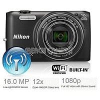 eBay Deal: Nikon COOLPIX S6800 16MP 1080P Wi-Fi Camera w/ 12x Zoom - Factory Refurbished $59 + Free Shipping