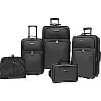 eBay Deal: Traveler's Choice Versatile 5-Piece Luggage Set $80 + Free Shipping (eBay Daily Deal)