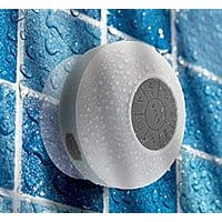 Amazon Deal: Liger FM Radio Wireless Bluetooth Shower Speaker (Black, Grey or Pick) $16 + FSSS!